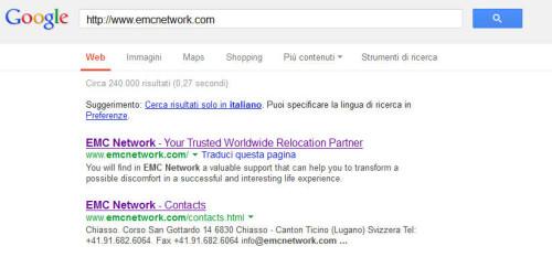analisi ottimizzazione emc google