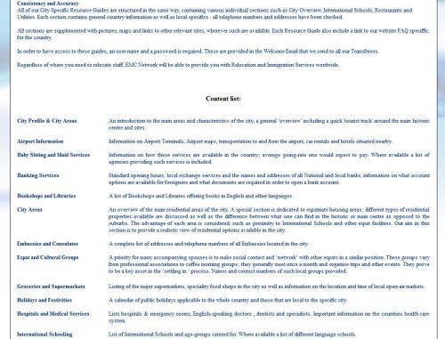 analisi ottimizzazione emc network contenuti