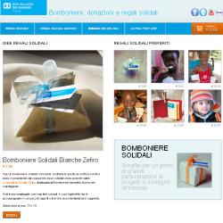 eCommerce Solidale per la vendita di prodotti solidali e regali digitali