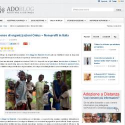 pagina adozione a distanza
