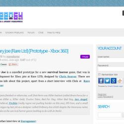 unseen 64 portfolio homepage