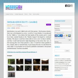 unseen64 portfolio pagina
