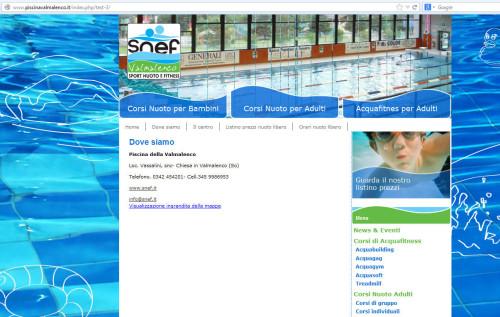 piscina di Chiesa Valmalenco indirizzo