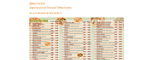 pizzeria e kebab madonnina in via porpora a milano