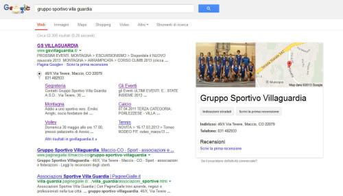 google gs villa guardia