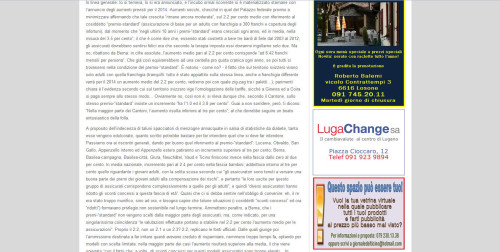 sito del giornale del ticino notizia