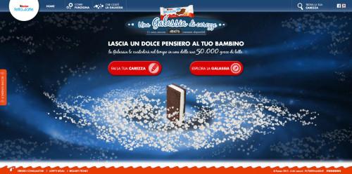 homepage del sito dolcecarezza.it