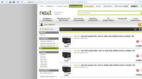 sito nexths URL