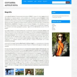 Sito web per scrittore di libri