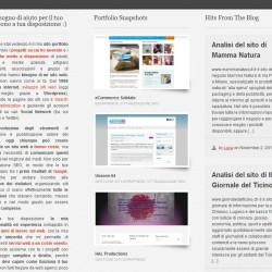 sviluppo sito web per portfolio