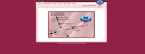 azienda agricola trecase mappa