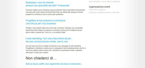 migliore web agency in italia 2014: grfstudio