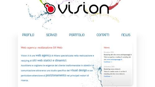 migliore web agency in italia 2014 vision