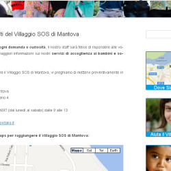 pagina web provvisoria in wordpress