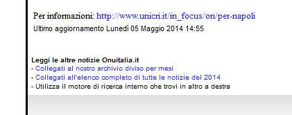 sito unicri onu italia: ricerca