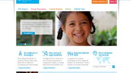 sito per associazione noprofit homepage