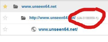 come trovare codice UA Analytics / ID Monitoraggio