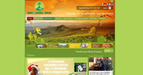 madeinlangheroero homepage