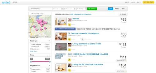analisi seo e ux airbnb 2013