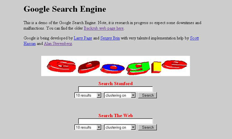google 1996 seo