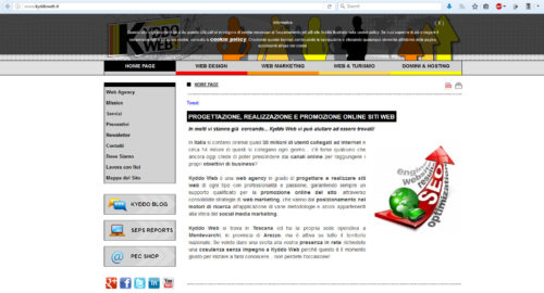 migliore web agency italiana 2017: kyddoweb