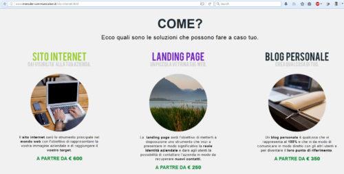 migliore web agency italiana 2017: menuder
