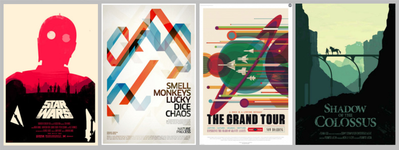 studi grafici e freelance: poster e volantini